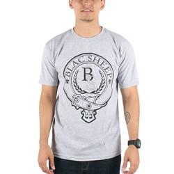 Blac Sheep - Belt T-shirt in Heather Grey