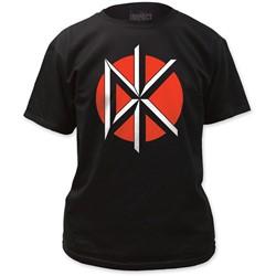 Dead Kennedys - Mens Logo W/ Back Print T-Shirt in Black