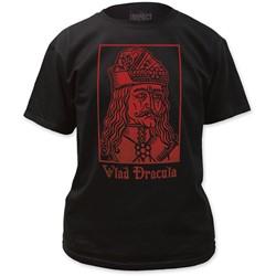 Impact Originals - Mens Vlad Dracula Fitted T-Shirt in Black