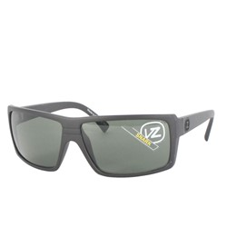 Von Zipper - Snark Sunglasses in Black Satin/Grey