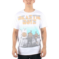Beastie Boys - Mens The Halftone T-shirt in White