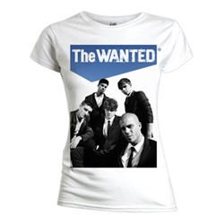 The Wanted - Womens Sky High T-shirt in White