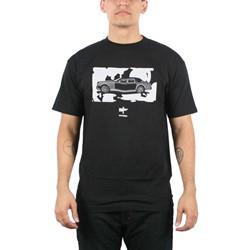 Akomplice - Slick Whip Mens T-shirt in Black