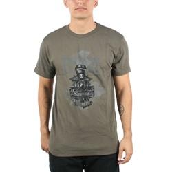 RVCA - Mens Locomotive T-Shirt In Military Green
