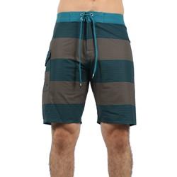 "RVCA - Mens Civil 20"" Board Shorts In Dirty Teal"