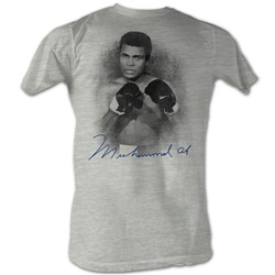 Muhammad Ali - Mens 1137-A3 T-Shirt In Gray Heather