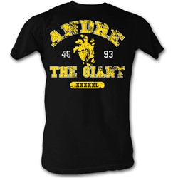 Andre The Giant - Mens Hand T-Shirt In Black