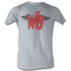 Bill And Ted - Mens Ws Logo T-Shirt In Silver
