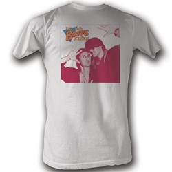 Bill And Ted - Mens 4 Square T-Shirt In White