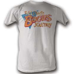 Bill And Ted - Mens Bogus T-Shirt In White