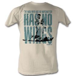Muhammad Ali - Mens Wings T-Shirt In Natural