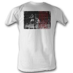 Muhammad Ali - Mens Ali Poet T-Shirt In White