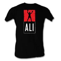 Muhammad Ali - Mens Ali T-Shirt In Black