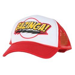 Big Bang Theory - Bazinga Snapback Hat in Red