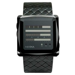 Nooka - Zem ZenH Night Steel Watch in Black