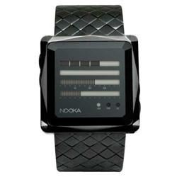 Nooka - Zem ZenH Night Steel Watch in Black