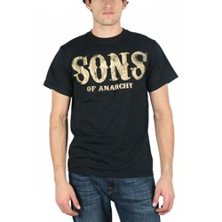 Sons of Anarchy - Mens Americana T-Shirt in Black