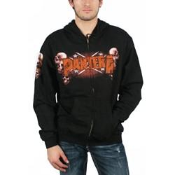 Pantera - Skull Zip Hoodie In Black