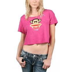 Paul Frank - Juniors Nerdy Julius T-Shirt In Pink Heather