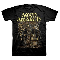 Amon Amarth - Mens Thor Oden's Son T-Shirt In Black