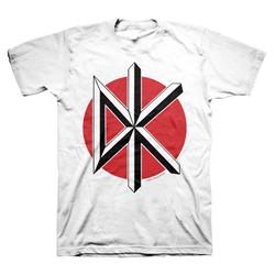 Dead Kennedys - Mens Jumbo Logo T-Shirt In White