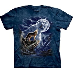 The Mountain - Youth Wolf Moon Spirit T-Shirt
