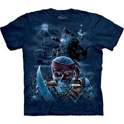 The Mountain - Mens Zombie Pirates T-Shirt