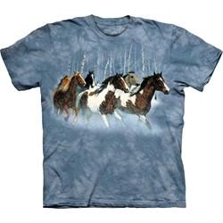 The Mountain - Youth Winter Run T-Shirt