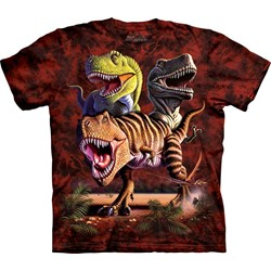 The Mountain - Youth Rex Collage T-Shirt