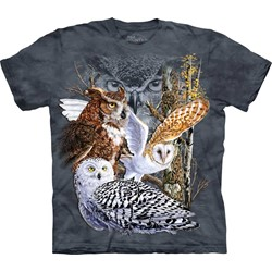 The Mountain - Mens Find 11 Owls T-Shirt