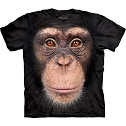 The Mountain - Mens Chimp Face  T-Shirt