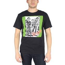 The Clash - Mens 1st Album T-Shirt in Black