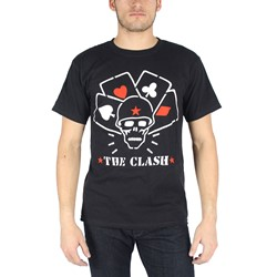 The Clash - Mens Straight to Hell T-Shirt in Black