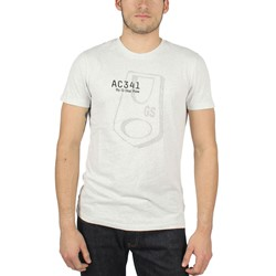 G-Star Raw - Mens Art Avon T-Shirt in Heather White