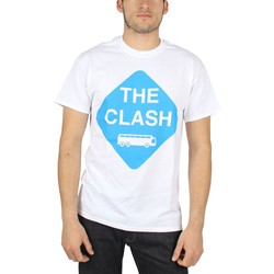 The Clash - Mens From Here to Eternity T-Shirt in White