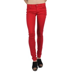 Tripp NYC - Womens T-Jeans in Lipstick Red