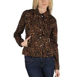Tripp NYC - Womens Dirty Leopard Jacket