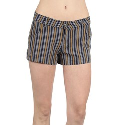 Jack BB Dakota - Womens Olea Shorts in Navy Blue