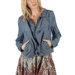 Jack BB Dakota - Womens Caspia Jacket in Medium Blue