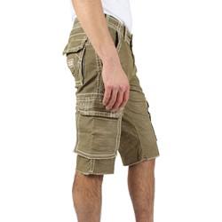 ea7f50b0a True Religion. True Religion - Mens Anthony Cut Off Big T Corduroy Shorts  in Old Sage