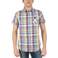 Fresh Brand - Mens Springtime Woven Shirt in Sunshine