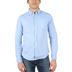 Fresh Brand - Mens Oxford Woven Shirt in Blue