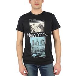 Fresh Brand - Mens Race Time T-Shirt in Black