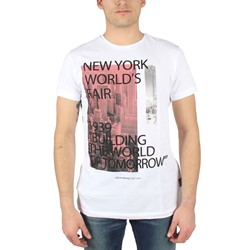 Fresh Brand - Mens World's Fair T-Shirt in Optic White