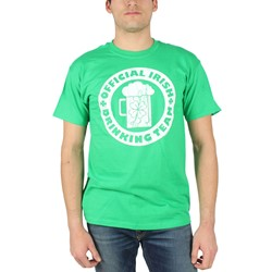 St. Patrick's Day - Mens Irish Drinking Team T-Shirt in Green
