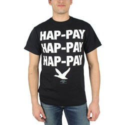 Duck Dynasty - Hap-Pay Hap-Pay Adult T-shirt in Black