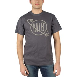 Men In Black - Mens Vintage Logo T-Shirt in Black