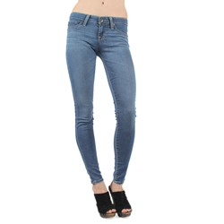 Big Star - Emma Low Rise Skinny Jeans In Radiant Light