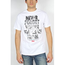 DGK - Mens Never Forget T-Shirt in White
