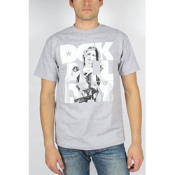 DGK - Mens Armed and Dangerous T-Shirt in Heather Grey